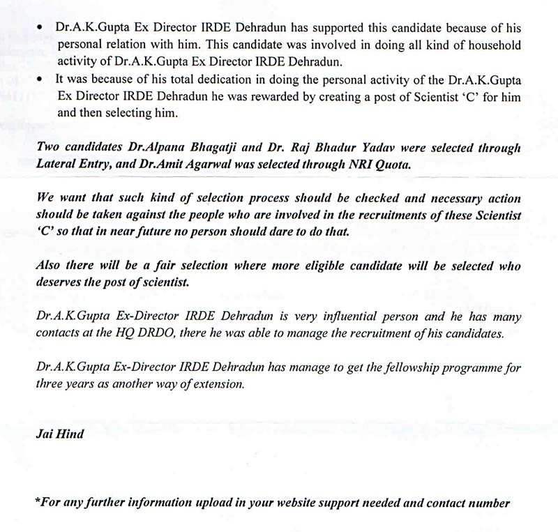 irde letter regarding scientists appointment2