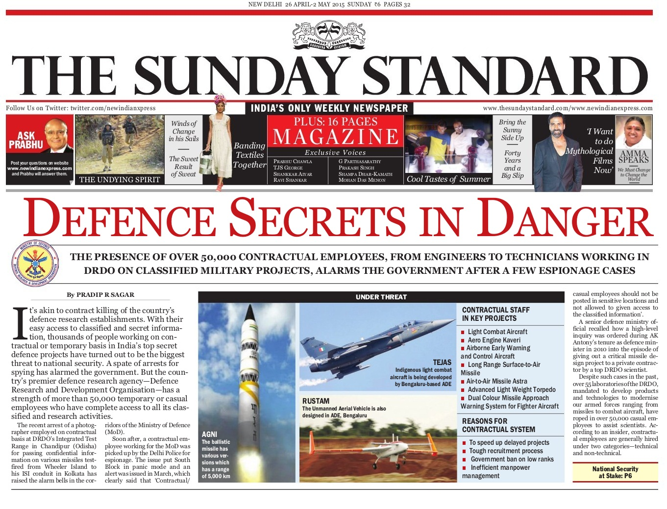 Sunday-Standard-26 April - 2May-2015