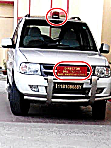 Project using  vehicle using as staff car by Director, DRL