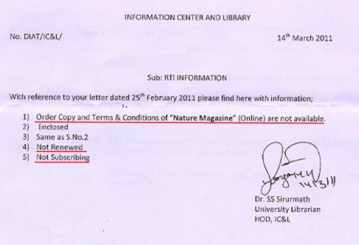 DIAT, DRDO, Pune Reply page1