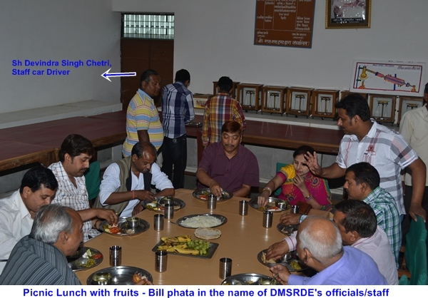 Dr Saxena's Family Picnic Lunch1