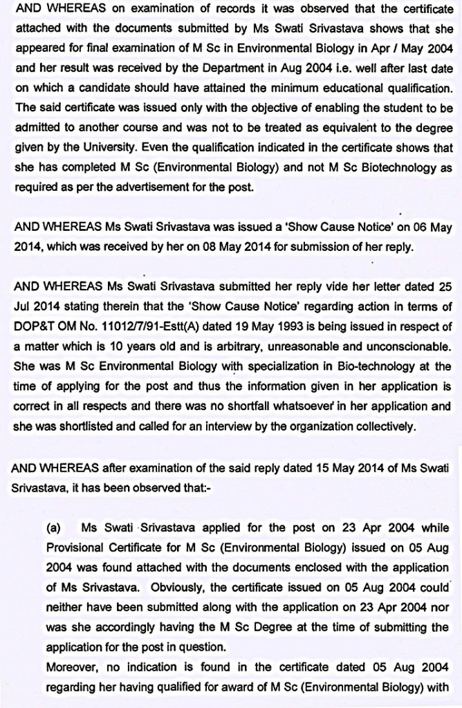 swati srivastava  annuling order page 2