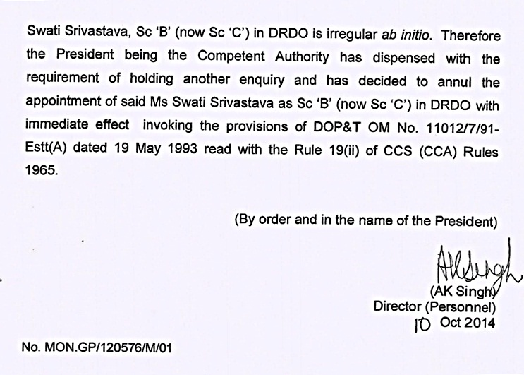 swati srivastava  annuling order page 4