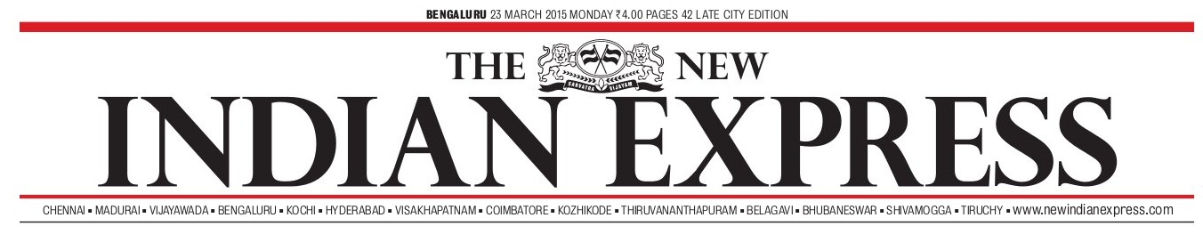 The New Indian Express 1 23 march 2015