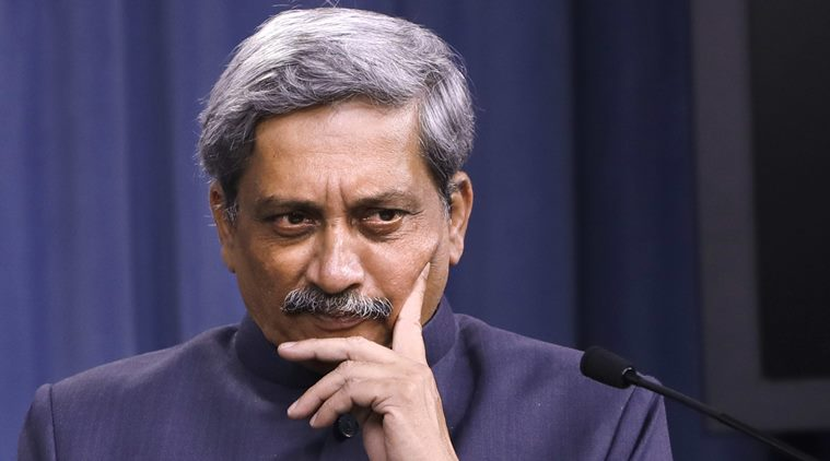 "Defence Minister Manohar Parrikar had earlier this week said that, ""If there is a criminal angle then the CBI will probe as the Ministry cannot"". (AP Photo)"